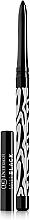 Düfte, Parfümerie und Kosmetik Automatischer matter Kajalstift - Dermacol Make-Up Black Sensation Matt black