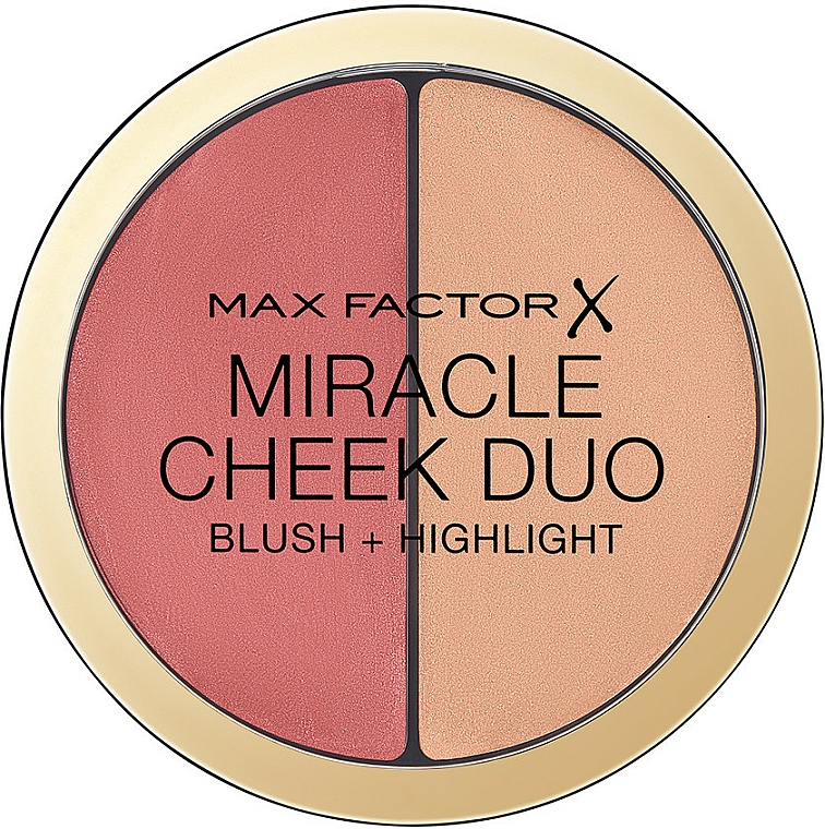 Rouge & Highlighter - Max Factor Miracle Cheeck Duo
