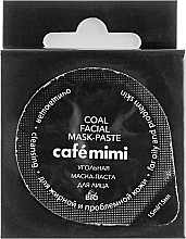 Düfte, Parfümerie und Kosmetik Reinigungsmaske mit Aktivkohle für fettige und problematische Haut - Cafe Mimi Coal Mask