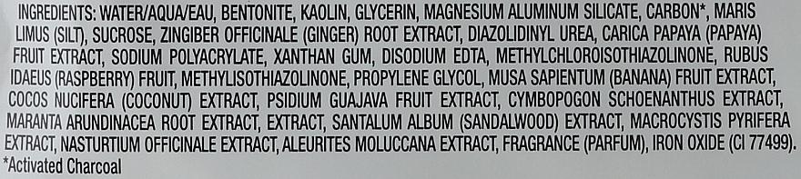 Reinigende Gesichtsschlammmaske mit Aktivkohle und schwarzem Zucker - Freeman Feeling Beautiful Charcoal & Black Sugar Mud Mask (Mini)  — Bild N4