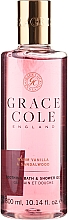 Düfte, Parfümerie und Kosmetik Duschgel Vanilla & Sandalwood - Grace Cole Warm Vanilla & Sandalwood Soothing Bath & Shower Gel