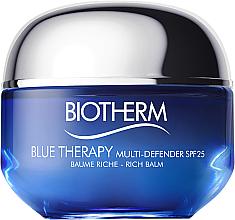 Düfte, Parfümerie und Kosmetik Anti-Aging Gesichtscreme für trockene Haut SPF 25 - Biotherm Blue Therapy Multi Defender SPF 25