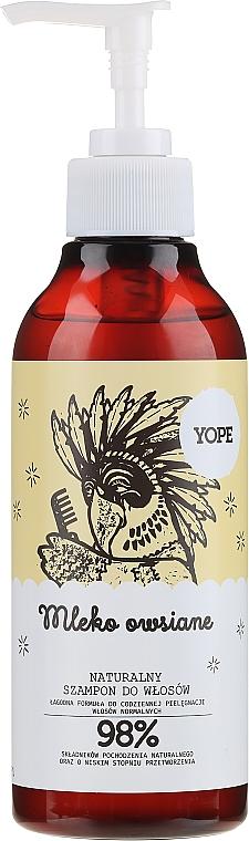 Natürliches Shampoo für normales Haar mit Hafermilch - Yope