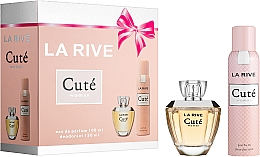 Düfte, Parfümerie und Kosmetik La Rive Cute Woman - Set(edp/100ml + deo/150ml)