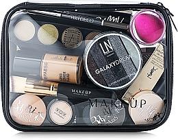 Düfte, Parfümerie und Kosmetik Kosmetiktasche Visible Bag, Transparent (ohne Inhalt) - MakeUp B:20 x H:15 x T:6 cm