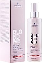 Düfte, Parfümerie und Kosmetik Farbspray für blondes Haar - Schwarzkopf Professional BlondMe Instant Blush Spray