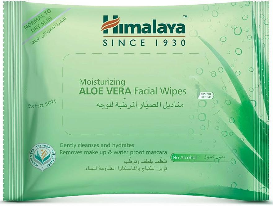 Gesichtsreinigungstücher mit Aloe Vera 25 St. - Himalaya Moisturizing Aloe Vera Facial Wipes
