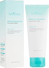 Düfte, Parfümerie und Kosmetik Ausgleichsschaum für empfindliche Haut - IsNtree Sensitive Balancing Cleansing Foam