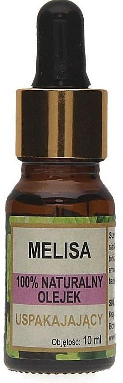 100% Natürliches beruhigendes Zitronenmelissenöl - Biomika Melisa Oil
