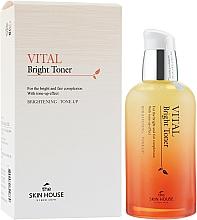 Düfte, Parfümerie und Kosmetik Aufhellender Gesichtstoner mit Acai-Beere und Limone - The Skin House Vital Bright Toner