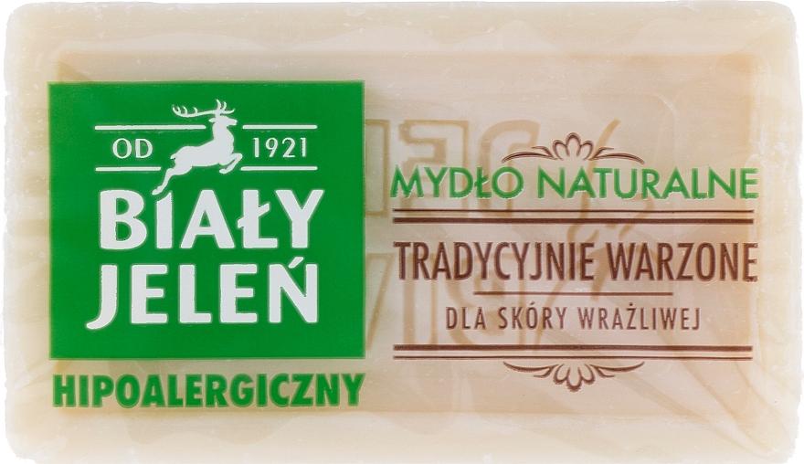 Hypoallergene Naturseife für empfindliche Haut - Bialy Jelen Hypoallergenic Natural Soap
