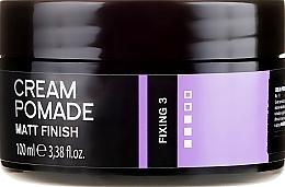 Düfte, Parfümerie und Kosmetik Modellierende Haar- und Bartpomade mit Matt-Effekt Fixierstufe 3 - Dandy Matt Finish Cream Pomade Matte Wax For Hair And Beard