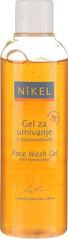 Gesichtsreinigungsgel - Nikel Face Wash Gel with Hamamelis