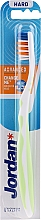 Düfte, Parfümerie und Kosmetik Zahnbürste ohne Kappe weiß-hellgrün - Jordan Advanced Toothbrush