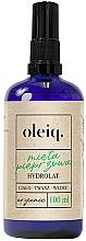 Düfte, Parfümerie und Kosmetik Minzhydrolat für Gesicht, Körper und Haar - Oleiq Hydrolat Mint