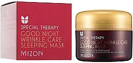 Düfte, Parfümerie und Kosmetik Anti-Falten Gesichtsmaske mit Retinol - Mizon Good Night Wrinkle Care Sleeping Mask