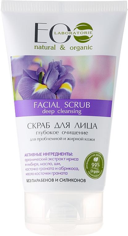 Tiefenreinigendes Gesichtspeeling mit Bergamottenöl und Sheabutter - ECO Laboratorie Facial Scrub