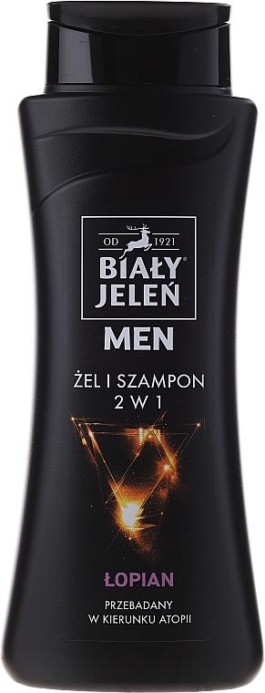 2in1 Hypoallergenes Duschgel & Shampoo für Männer - Bialy Jelen Hypoallergenic Gel & Shampoo 2in1
