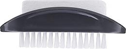 Düfte, Parfümerie und Kosmetik 2in1 Hand- und Fußreinigungsbürste mit Bimsstein grau - Konex Two-sided Foot And Toenail Brush With Rough Pumice