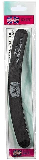Nagelfeile 180/180 schwarz RN 00250 - Ronney Professional