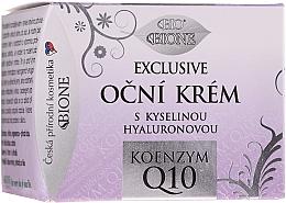 Düfte, Parfümerie und Kosmetik Augencreme - Bione Cosmetics Exclusive Organic Eye Cream With Q10