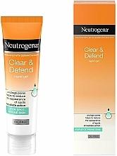 Düfte, Parfümerie und Kosmetik Ölfreies reinigendes und schützendes Gesichtsgel mit Salicylsäure - Neutrogena Clear & Defend Rapid Gel