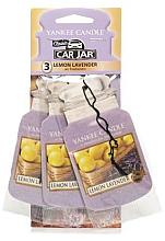 Düfte, Parfümerie und Kosmetik Papier-Lufterfrischer Lemon Lavender 3 St. - Yankee Candle Car Jar Lemon Lavender