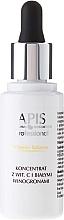 Düfte, Parfümerie und Kosmetik Gesichtskonzentrat mit Vitamin C und weißer Traube - APIS Professional Vitamin Balance Concentrate