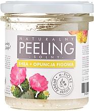 Düfte, Parfümerie und Kosmetik Natürliches Salz-Körperpeeling mit Sheabutter und Kaktusfeige - E-Fiore Prickly Pear Body Peeling