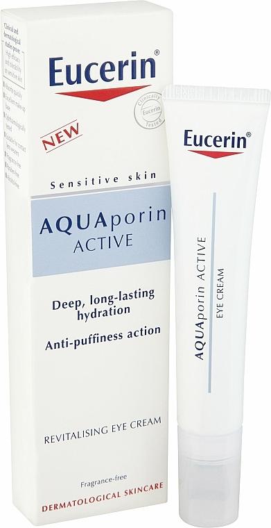 Feuchtigkeitsspendende und revitalisierende Augencreme - Eucerin AquaPorin Active Deep Long-lasting Hydration Revitalising Eye Cream