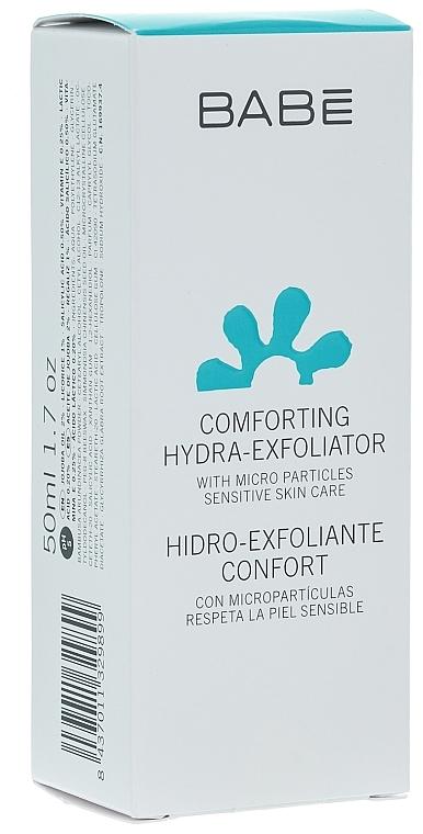 Sanftes feuchtigkeitsspendendes Gesichtspeeling - Babe Laboratorios Comforting Hydra-Exfoliator