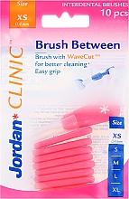 Düfte, Parfümerie und Kosmetik Interdentalbürsten 0,4 mm XS 10 St. - Jordan Interdental Brush
