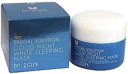 Düfte, Parfümerie und Kosmetik Gesichtsmaske für die Nacht - Mizon Good Night White Sleeping Mask