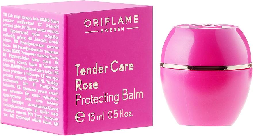 Aufweichender Lippenbalsam mit Rosenöl - Oriflame Tender Care Rose Protecting Balm