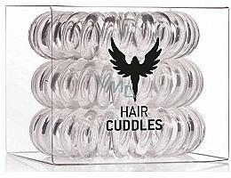 Haargummis 3 St. transparent - HH Simonsen Hair Cuddles Clear
