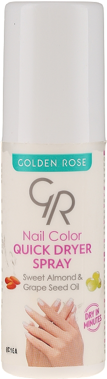 Nagellacktrockner-Spray - Golden Rose Nail Quick Dryer Spray