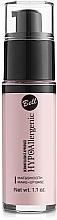 Düfte, Parfümerie und Kosmetik Make-up Base - Bell Hypo Allergenic Mat&Smooth Make-Up Base
