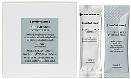 Düfte, Parfümerie und Kosmetik Gesichtspeeling - Comfort Zone Sublime Skin Intensive Peel