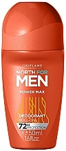 Düfte, Parfümerie und Kosmetik Deo Roll-on - Oriflame North for Men Power Max