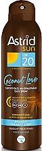 Düfte, Parfümerie und Kosmetik Sonnenschützendes Trockenöl-Spray mit kühlendem Effekt SPF 20 - Astrid Sun Easy Spray Coconut Love SPF20