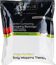 Düfte, Parfümerie und Kosmetik Wickelverband mit Thermoeffekt - Bielenda Professional Termo-Contouring Wrapping Bandage