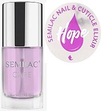 Düfte, Parfümerie und Kosmetik Nagel- und Nagelhautpflegeöl mit Jasmin und Lilie Duft - Semilac Care Nail & Cuticle Elixir Hope