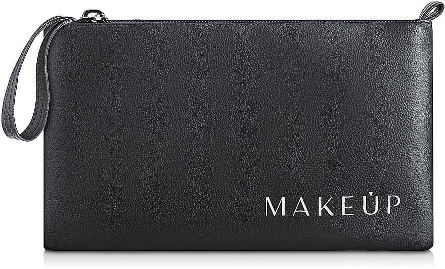 Kosmetiktasche schwarz 21x12,5 cm - MakeUp