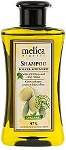 Düfte, Parfümerie und Kosmetik Farbschutz-Shampoo für coloriertes Haar mit UV-Filter und Olivenextrakt - Melica Organic For Coloured Hair Shampoo