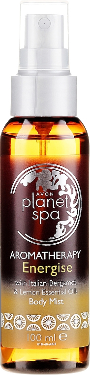 Körperspray mit Bergamotte und Zitrone - Avon Aromatherapy Energise Body Mist