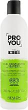 Düfte, Parfümerie und Kosmetik Feuchtigkeitsspendendes Shampoo für welliges und lockiges Haar - Revlon Professional Pro You The Twister Shampoo