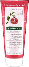 Düfte, Parfümerie und Kosmetik Shampoo mit Granatapfel für geschädigtes und gefärbtes Haar - Klorane Color Enhancing Anti-Fade Shampoo With Pomegranate