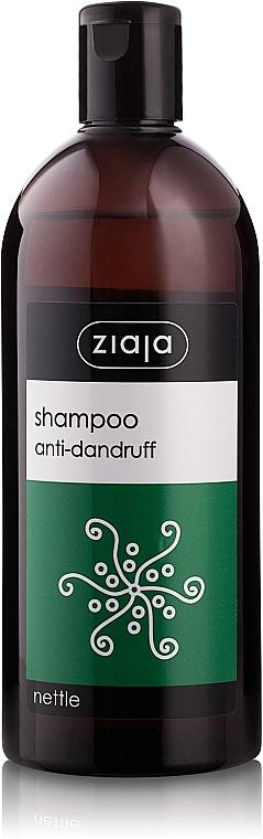 Shampoo gegen Schuppen mit Brennnessel - Ziaja Shampoo