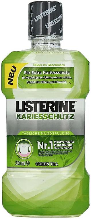 Mundspülung für extra Kariesschutz mit grünem Tee - Listerine Caries Protection Mouthwash