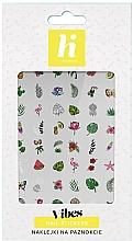 Düfte, Parfümerie und Kosmetik Dekorative Nagelsticker - Hi Hybrid Vibes Nail Stickers